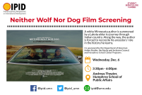 Neither Wolf Nor Dog flyer